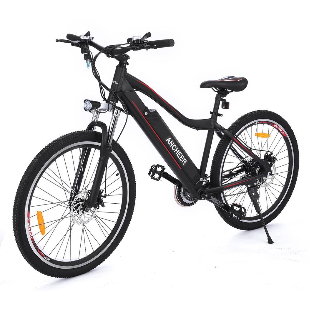 Electric Bike Mountain Bicycle with  Aluminum Alloy Frame &Lithium Battery 26inch 36V 12A