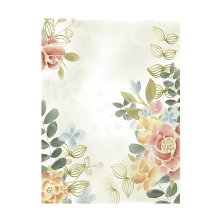 Soft Flower Collection II Print Wall Art By June Erica (Collection Flower Print)
