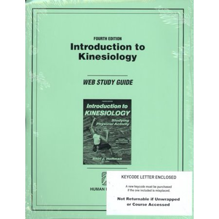 Introduction To Kinesiology  Web Study Guide  Access Code