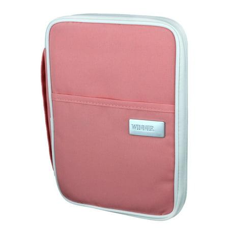 a4a1b1cb8 Outdoor Travel Passport Holder Credit ID Card Cash Wallet Purse Coral Pink  L - Walmart.com