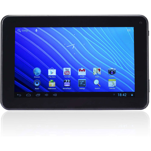 "Refurbished Double Power EM63-BLK  Tablet  (7"" 2X 1.5GHz  8 GB HDD  1 GB RAM)"