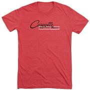 Chevy Retro Stingray Mens Tri-Blend Short Sleeve Shirt