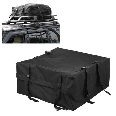 Hilitand Car Vehicle Waterproof Roof Top Bag Cargo Pack Bag Storage Box Luggage Rack Holdall , Roof Top Bag, Car Roof Box Roof Rack Storage