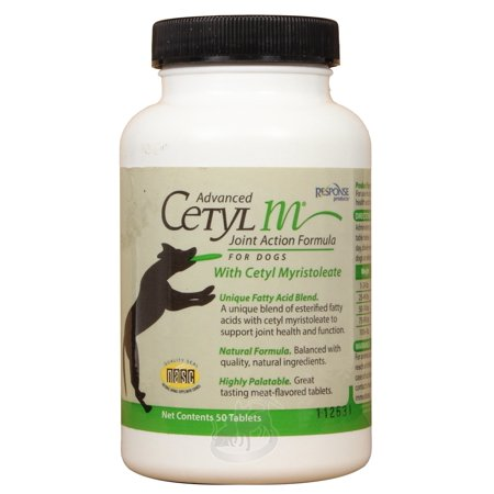 Advanced Cetyl M Tablets Joint Action Formula for Dogs (50