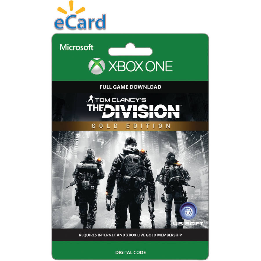 Tom Clancy The Division Gold Edition (Xbox One) (Email Delivery)