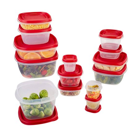 Rubbermaid Food Storage Containers with Easy Find Lids, 28-Piece Bonus Set