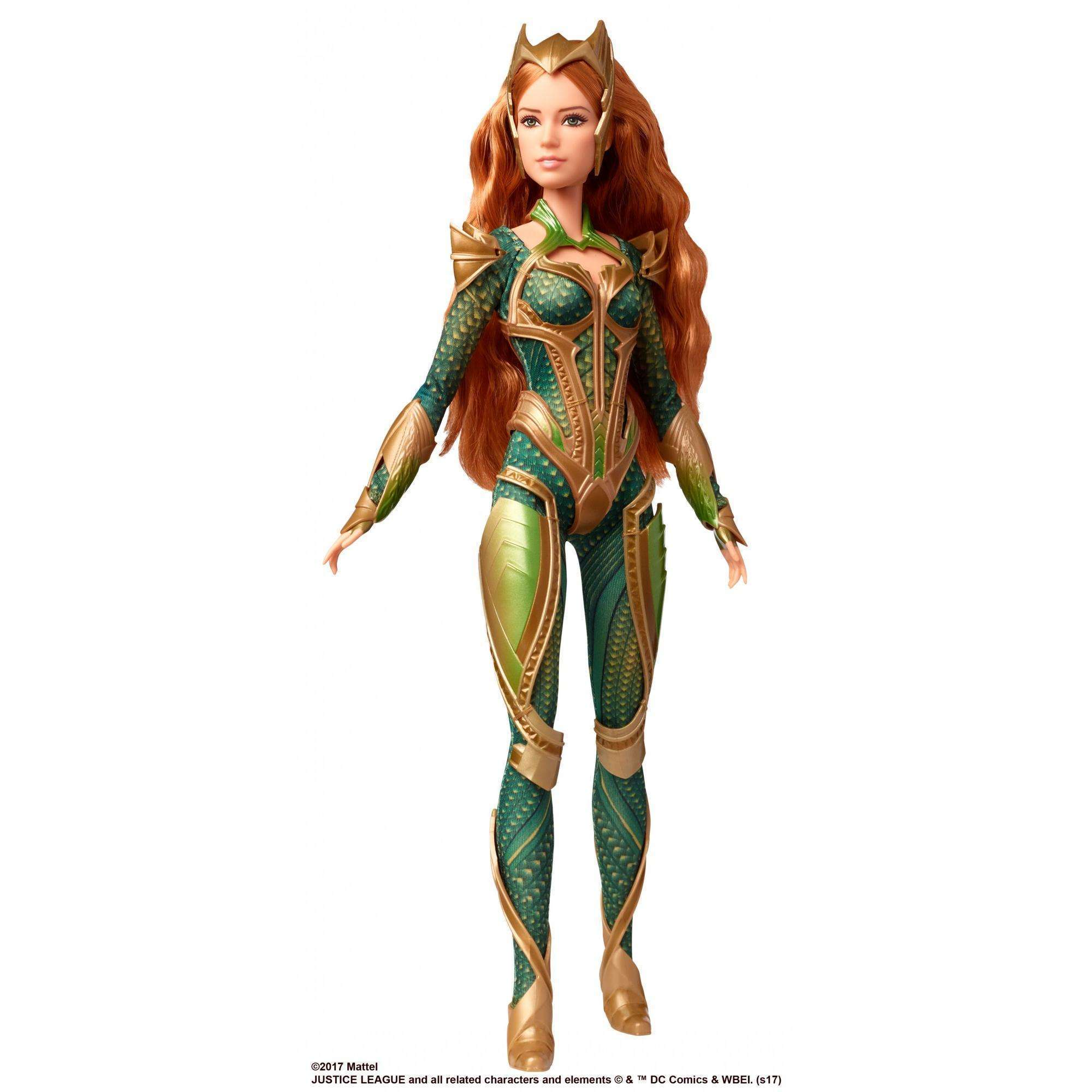 Barbie Justice League Undersea Warrior Princess Mera Doll