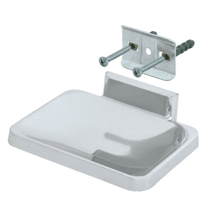 Ez-Flo 15202 Soap Dish Concealed Screw Chrome