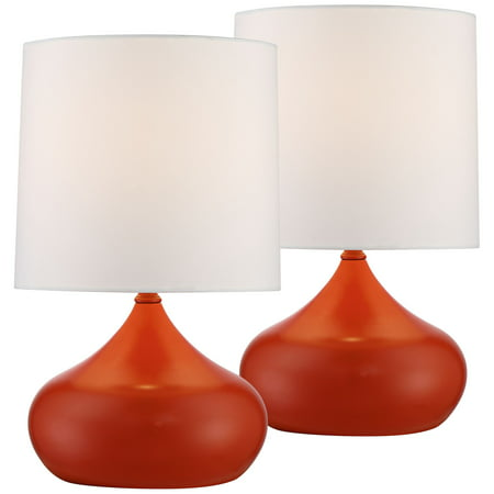 360 Lighting Mid Century Modern Accent Table Lamps 14 3/4