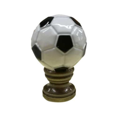 Home Concept Inc Alloy Soccer Ball Lamp Finial Walmart Com Walmart Com
