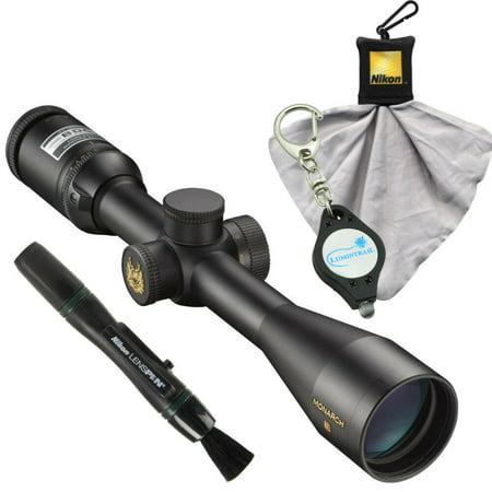 Nikon Monarch 3 BDC Riflescope 3-12x42 - 6768 w/ Lens Pen, Cloth, Keychain