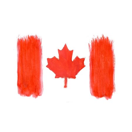Canadian Flag Print Wall Art By Vladstar