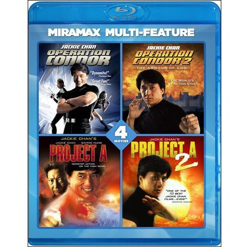 Jackie Chan 4 Film Collection (Blu-ray) (Widescreen)