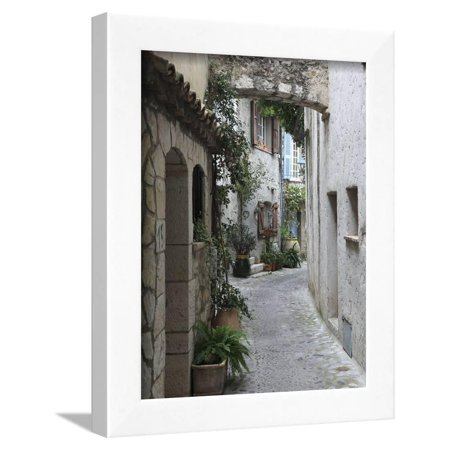 St. Paul De Vence, Medieval Village, Alpes Maritimes, Cote D'Azur, Provence, France, Europe Framed Print Wall Art By Wendy