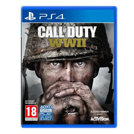 CALL OF DUTY WORLD WAR 2, WWII (PS4) (Call Of Duty World At War Cover)
