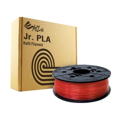 XYZprinting PLA Refill Filament - CLEAR RED (NFC Style for da Vinci nano, da Vinci mini, da Vinci Jr, da Vinci Super Series)