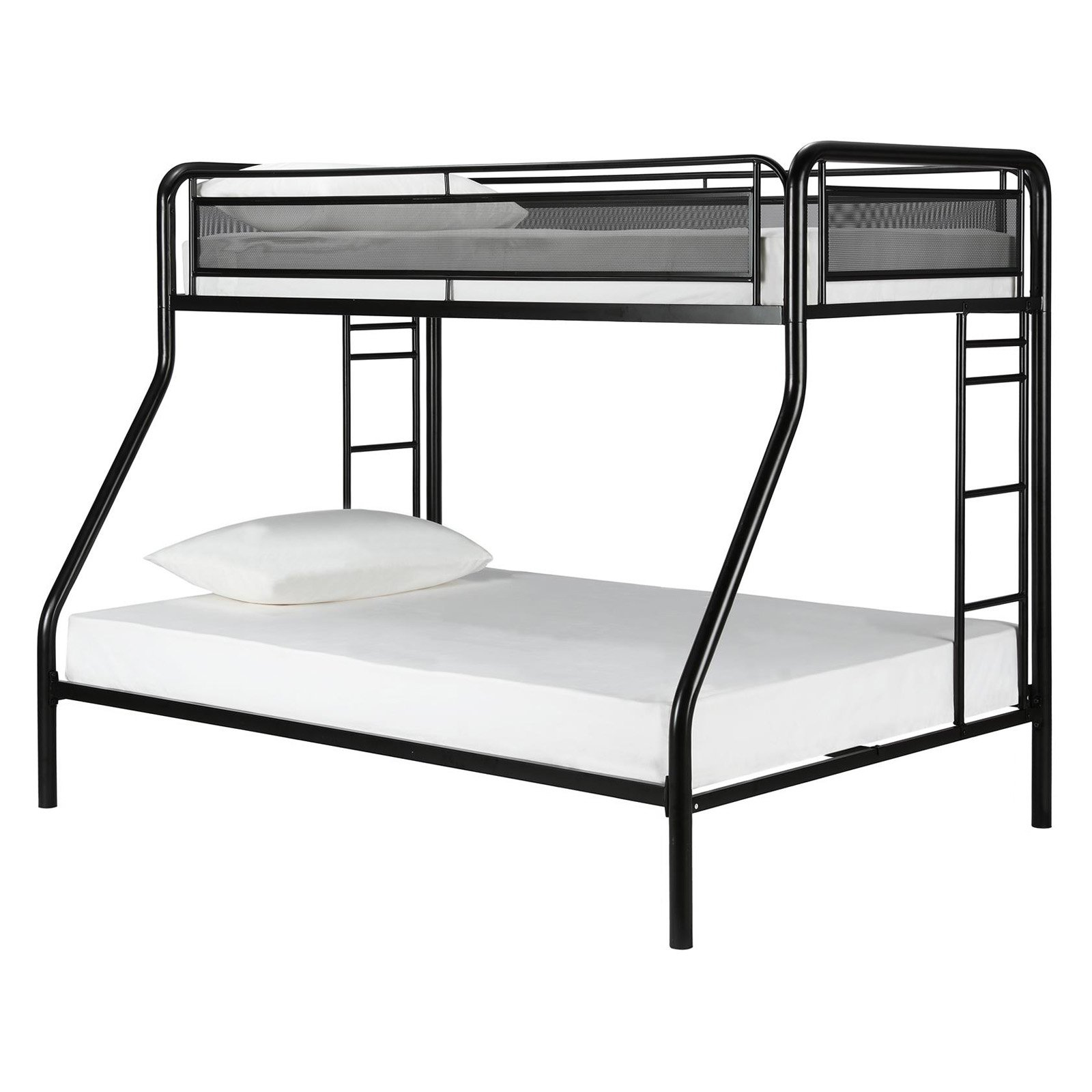 DHP Rockstar Twin Over Full Metal Bunk Bed Multiple Colors