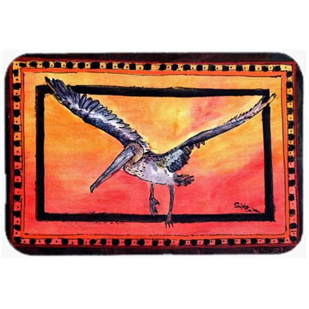 Carolines Treasures 8095JCMT 24 x 36 in. Bird - Pelican Kitchen Or Bath Mat - image 1 of 1