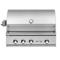 Delta Heat 32 Inch Propane Grill with Interior Lights