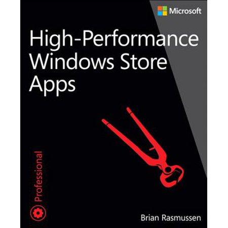 High-Performance Windows Store Apps - eBook (High School Sim App)