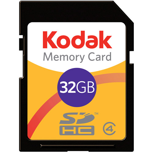 Kodak - Flash memory card - 32 GB - Class 4 - SDHC
