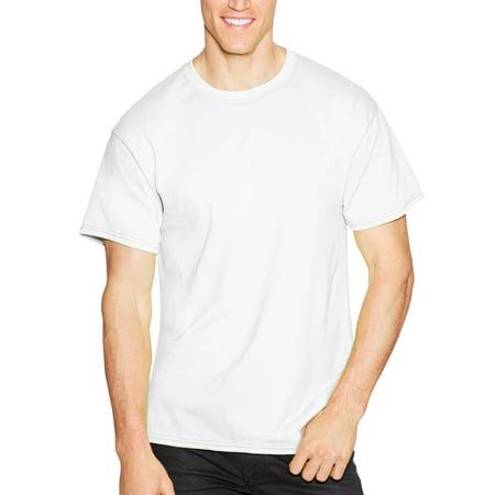 Hanes Men's Short Sleeve EcoSmart T-shirt (4-pack) ()