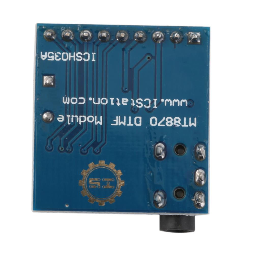 Outad Mt8870 Dtmf Audio Decoder Speech Decoding Module Voice New Using Mt8870de