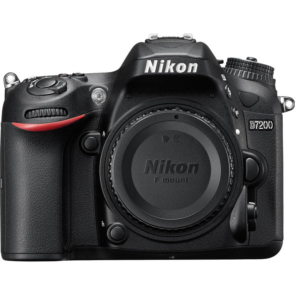 Nikon D7200 DX-format DSLR Body Black