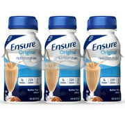 Ensure Original Nutrition Shake with 9 grams of protein, Meal Replacement Shakes, Butter Pecan, 8 fl oz, 6 Count
