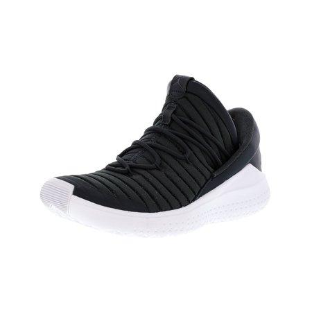 aa54b97de6cec Nike Men s Jordan Flight Luxe Anthracite   Black-White Ankle-High Fabric Basketball  Shoe ...