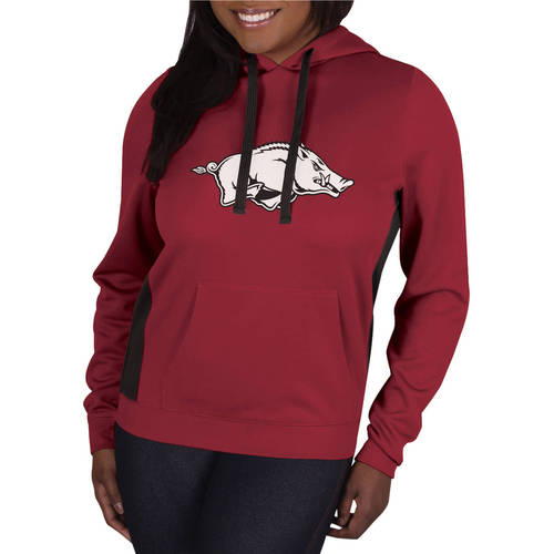 NCAA Arkansas Razorbacks Ladies Synthetic Pullover Hood