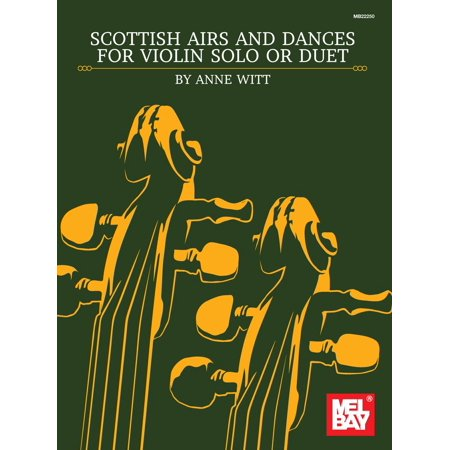 Scottish Airs and Dances for Violin Solo or Duet - eBook (Scottish Violin)
