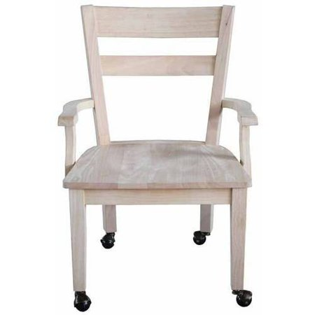 Dining Chair with Casters - Walmart.com