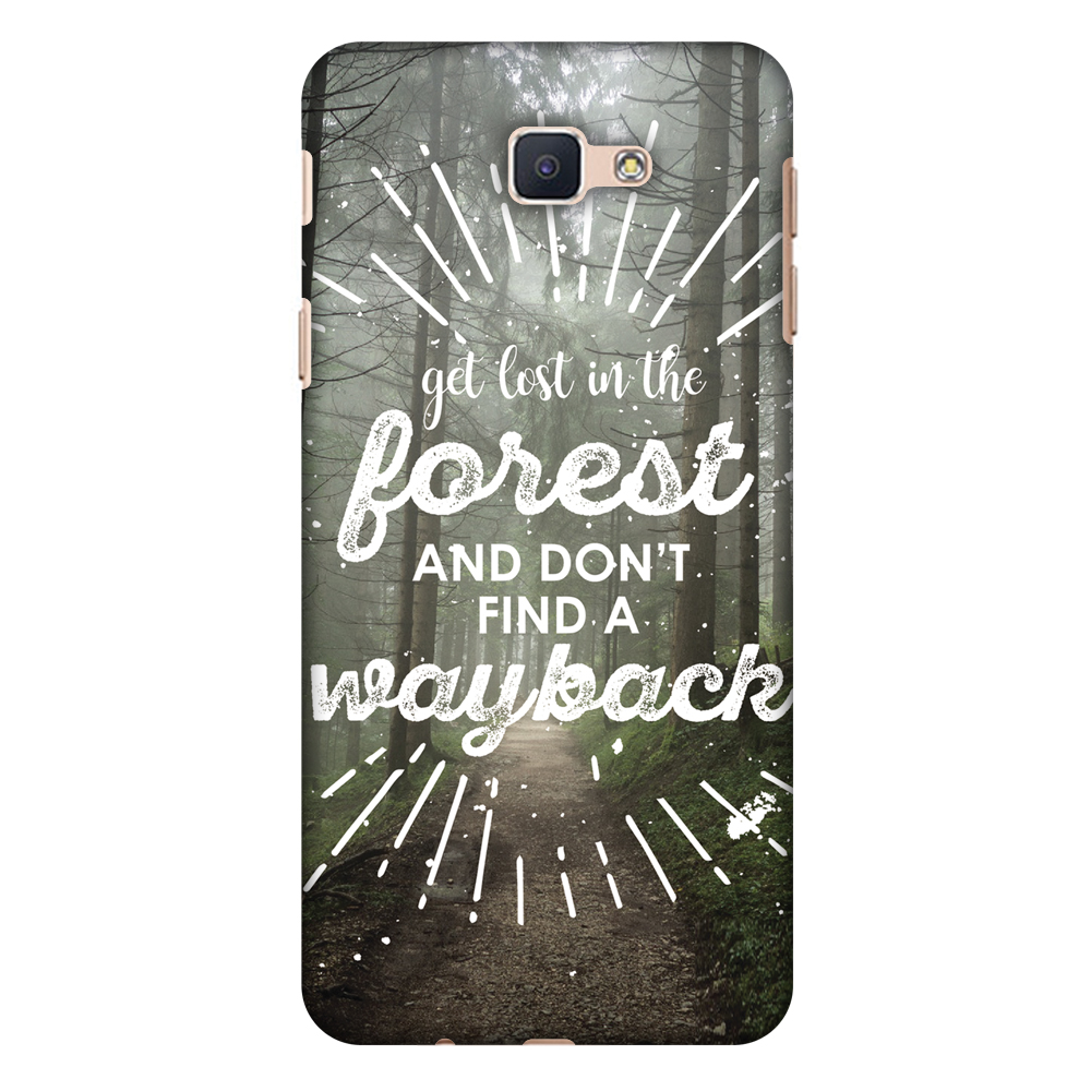 Samsung Galaxy On5 2016 Case, Samsung GALAXY J5 Prime Case - Lost In Forest,Hard Plastic Back Cover. Slim Profile Cute Printed Designer Snap on Case with Screen Cleaning Kit