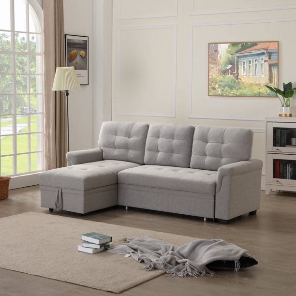 Sectional Sofas Bed With Fold Out Twin, Sofa Bed L Shaped Couch