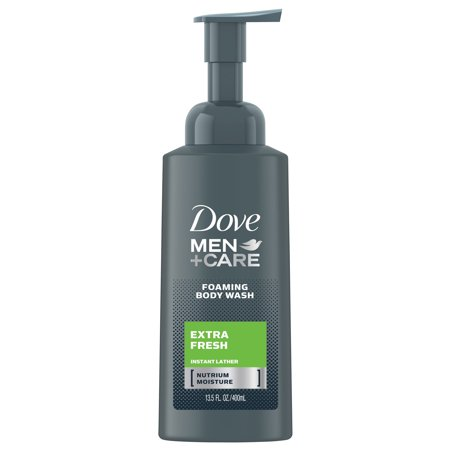 (2 pack) Dove Men+Care Extra Fresh Foaming Body Wash, 13.5 oz