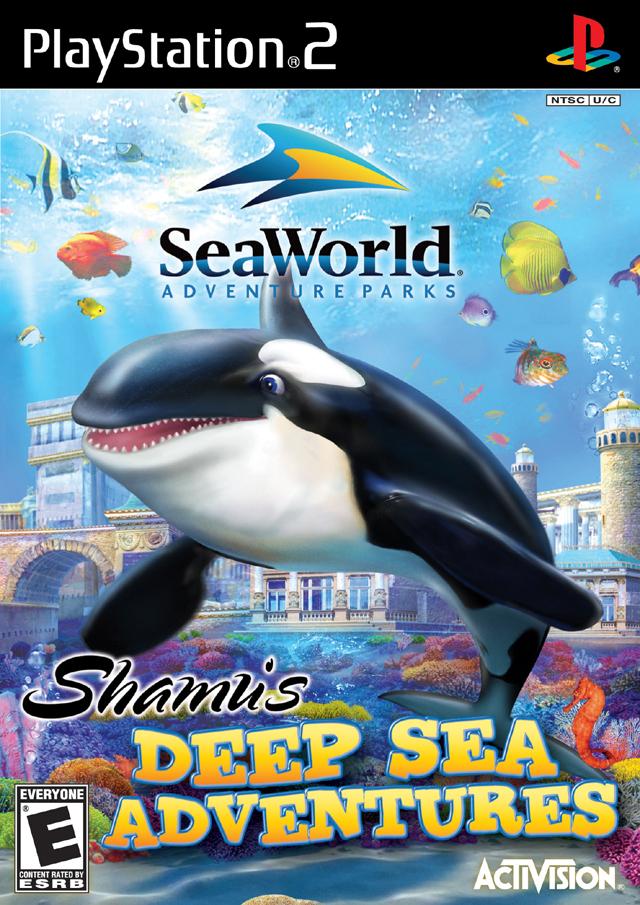 SeaWorld Adventure Parks Shamu's Deep Sea Adventure PlayStation 2 by Activision Blizzard, Inc