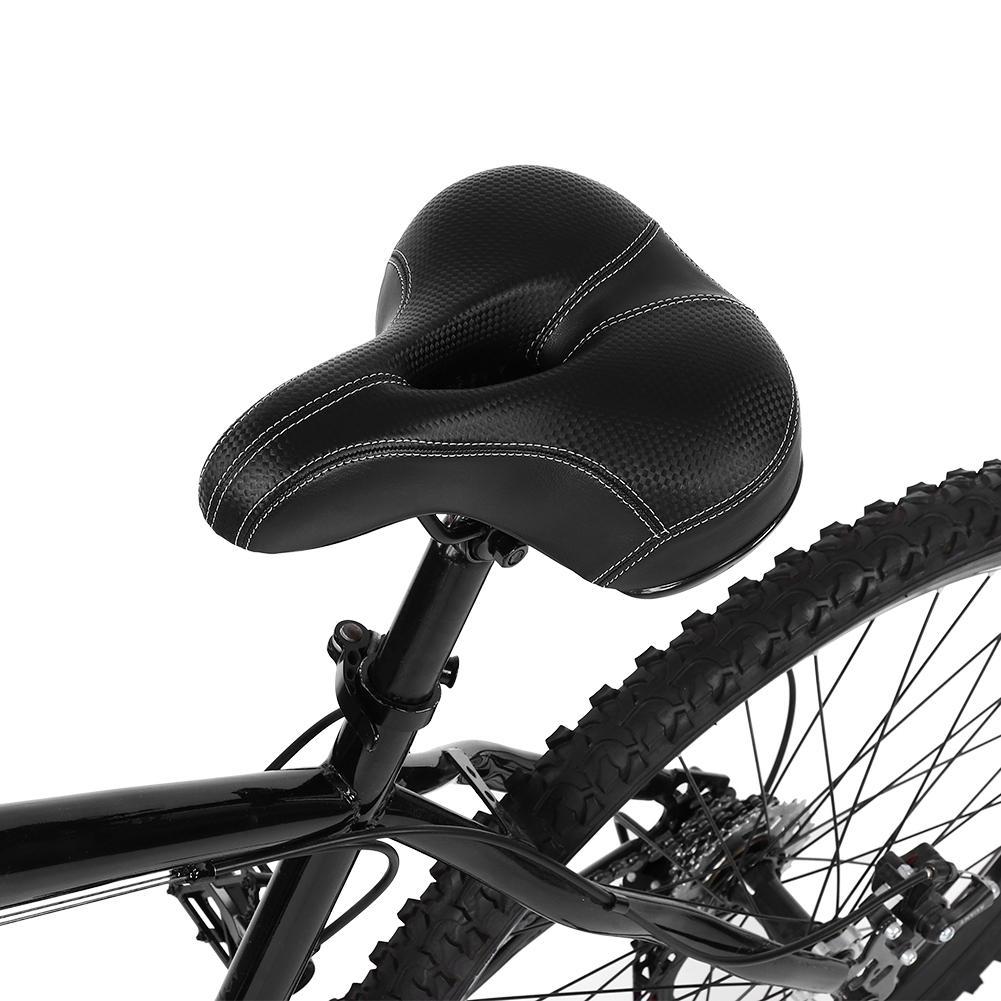 Large Big Bum vélo cruiser Sportif Doux Coussin Selle Siège Coussin anti-choc