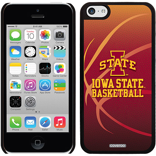 Iowa State Basketball Design on Apple iPhone 5c Thinshield Snap-On Case by Coveroo