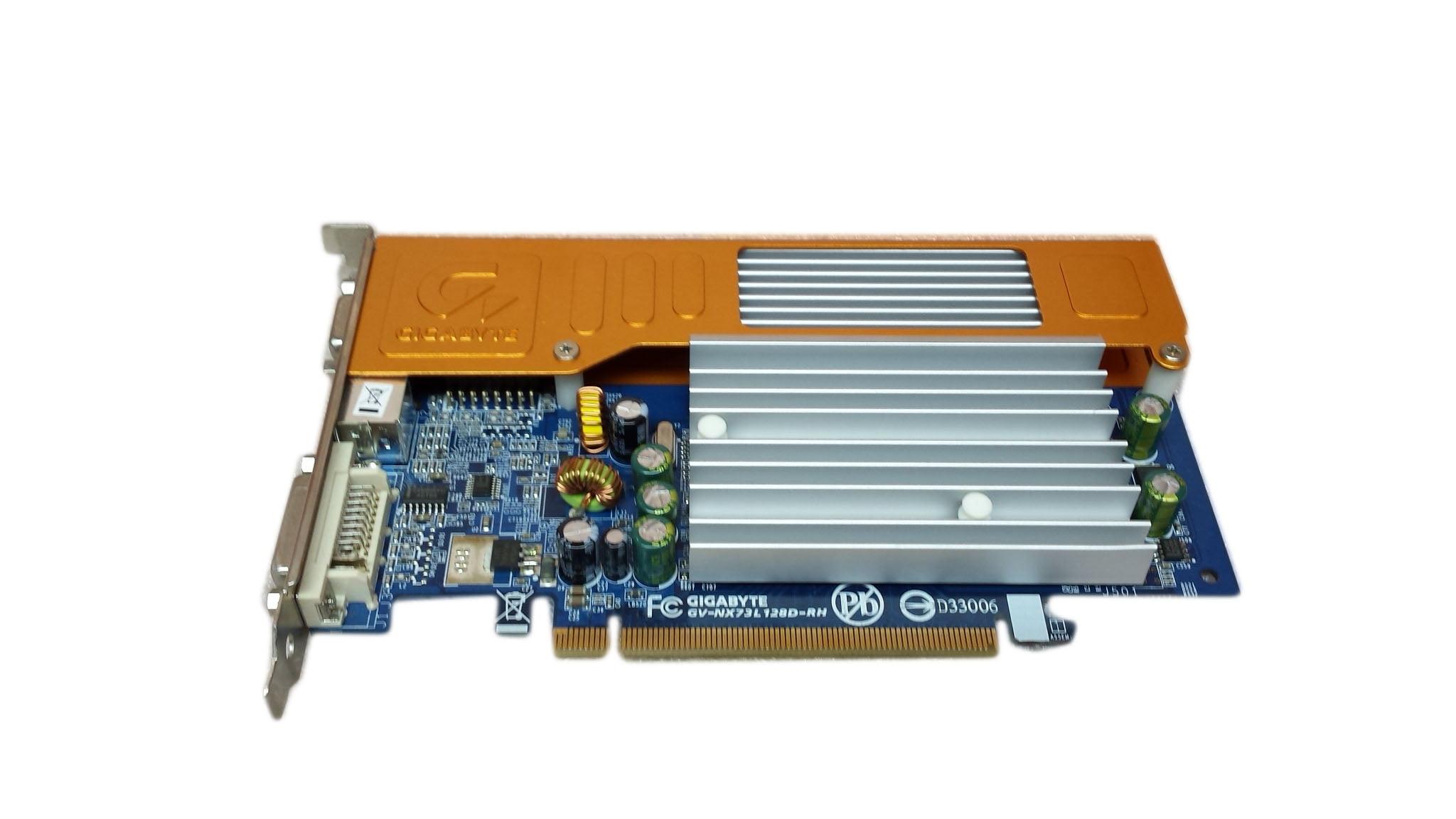 Gigabyte NVIDIA GeForce 7300 LE 128 MB DDR2 SDRAM PCI