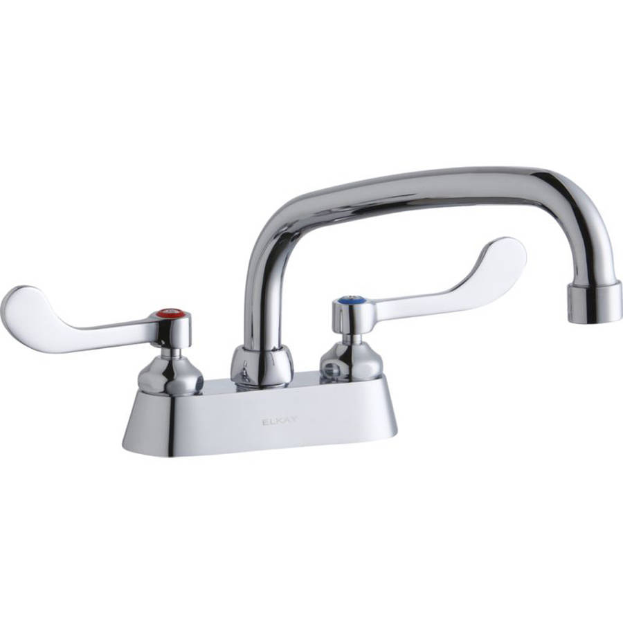 elkay lk406at08t4 commercial 2hole faucet