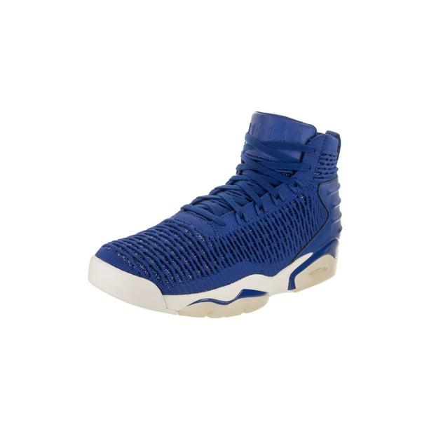 jordan nike men's flyknit elevation 23 basketball shoe 11 blue