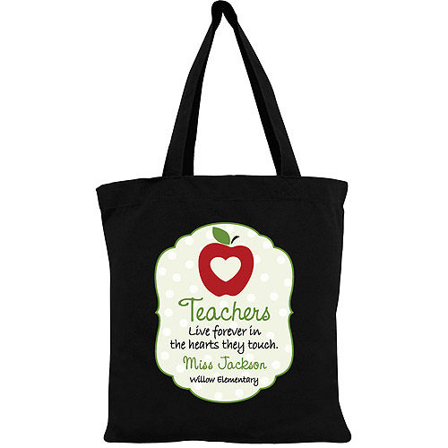Personalized Special Teacher Tote Bag