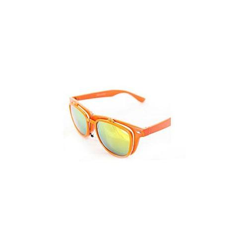 Soul Wireless 300orange Fashion Wayfarer Sunglasses 300 Orange Glassy Frame 2 layer