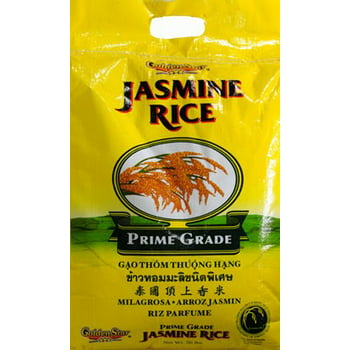 Golden Star Jasmine Rice 20-lb. Bag