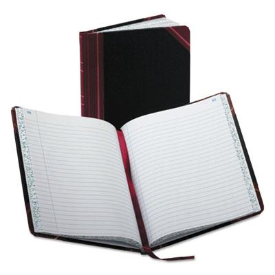 Boorum & Pease Journal with Black and Red Cover