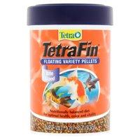 (2 Pack) Tetra Goldfish Floating Variety Pellets Goldfish Food, 1.87 oz