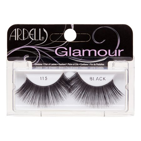 5b501664d03 Ardell Fashion Lashes #115, Black - Walmart.com