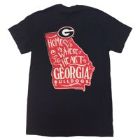 314ed01d Product Image Georgia Bulldogs Where The Heart Is T-Shirt