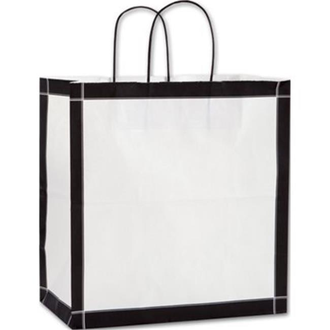 Deluxe Small Business Sales 15-130713-VBLA 13 x 7 x 13 inch Vienna Shoppers